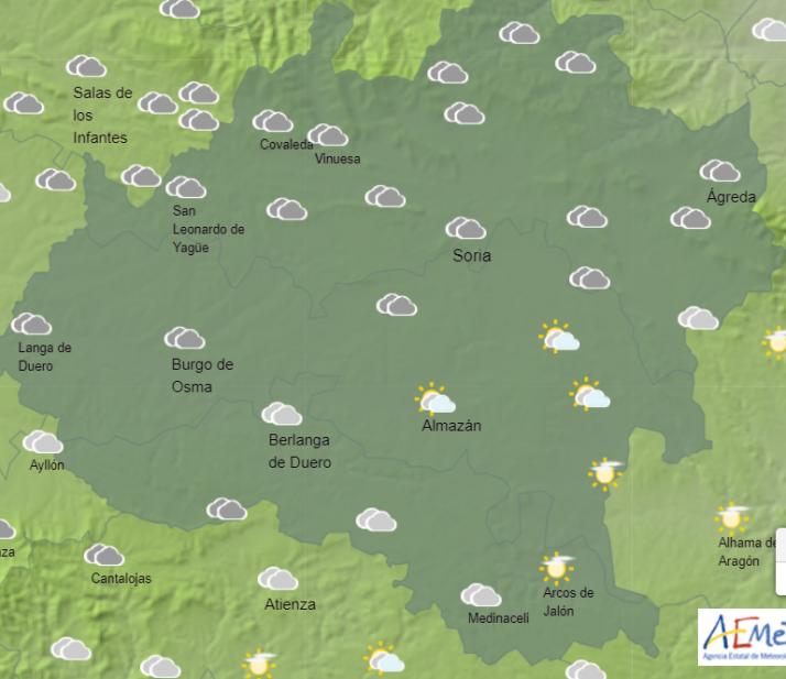 Foto 1 - El tiempo en Soria: Bajan las temperaturas