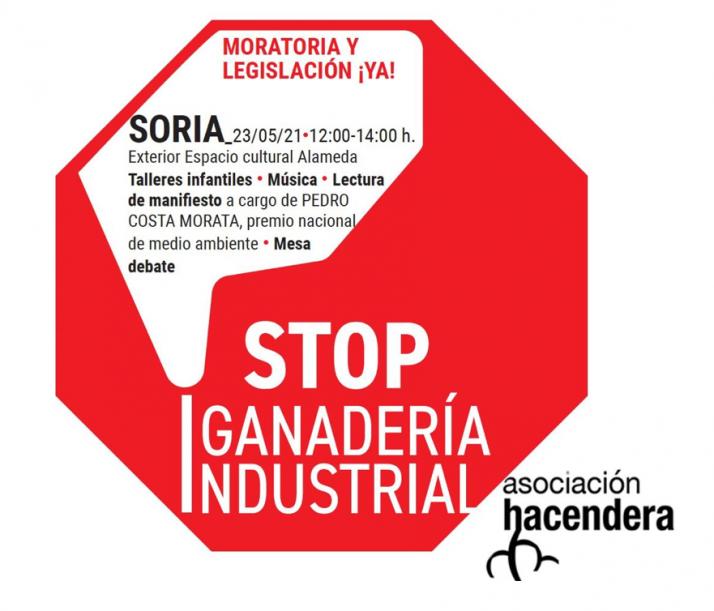 Foto 1 - Podemos Soria se posiciona en contra de la Macrovaquería de Noviercas