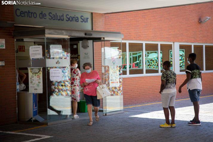 Centro de Salud 'La Milagrosa' de Soria. /María Ferrer
