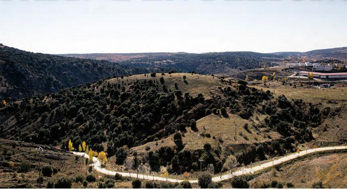 Cerro de los Moros.