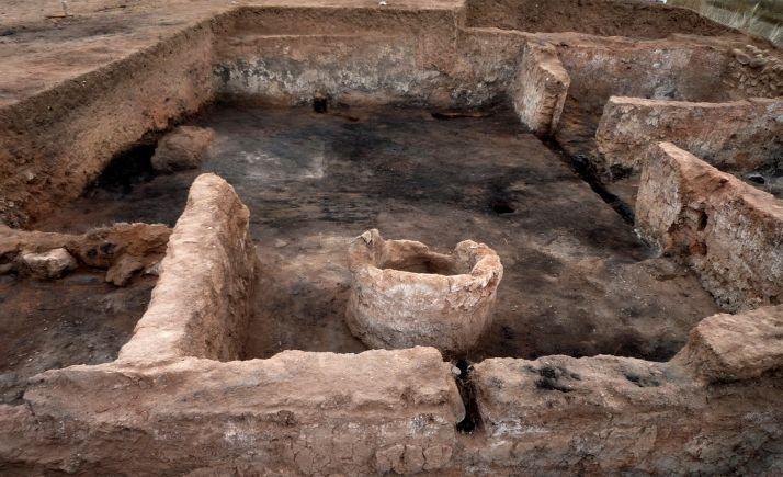 Una imagen de las excavaciones en Ciadueña. /Jta.