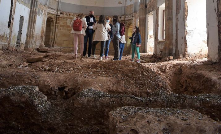 Imagen de la visitada realizada por la comisión. /Ayto.