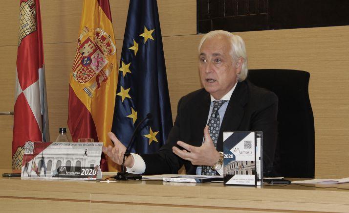 El presidente del TSJCyL, José Luis Concepción. /TSJCyL