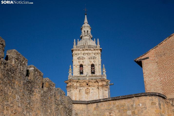 Torre de la catedral de El Burgo de Osma. /María Ferrer