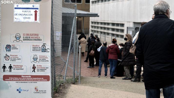 Foto 1 - Más de la mitad de los sorianos 'vacunables' han recibido al menos la primera dosis