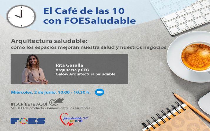 Foto 1 - La Arquitectura Saludable protagoniza 'El café de las 10 con FOESaludable'