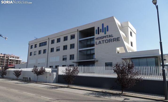 Una imagen del Hospital Latorre. /SN