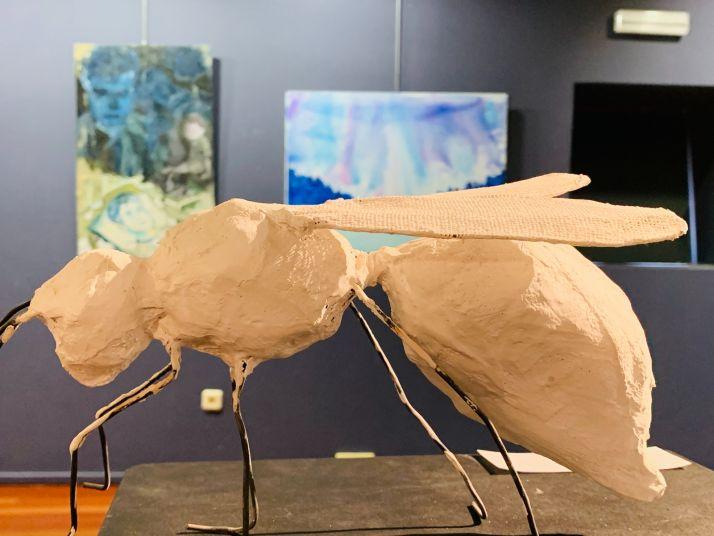 Foto 2 - Abierta al público la exposición de artes plásticas en la sala Z de la Audiencia
