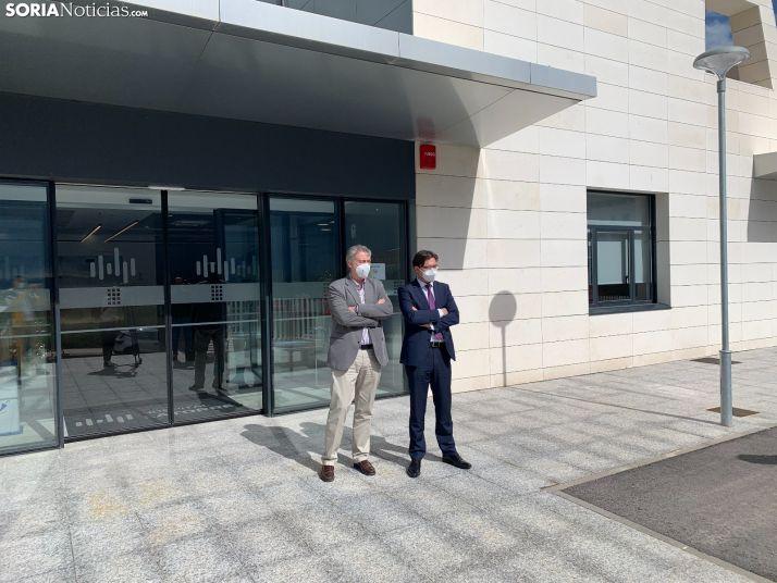 Galería de imágenes del primer día de vida del Hospital Latorre en Soria
