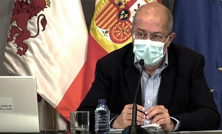 Igea, en comparecencia de prensa. /Jta.
