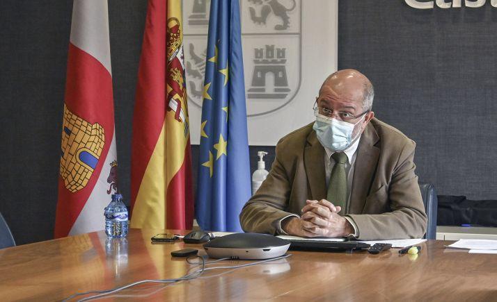 Francisco Igea, durante la conferencia sectorial este viernes. /Jta.