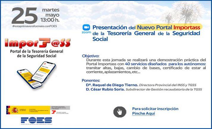 Foto 1 - La directora provincial del INSS explicará en FOES las utilidades del portal Importass