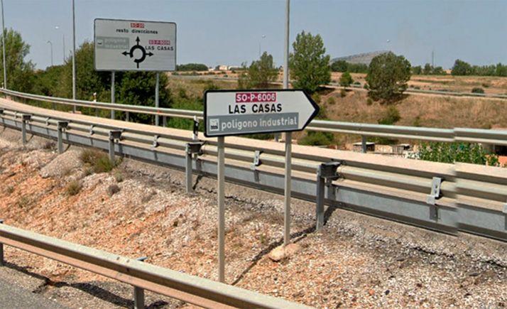 Foto 1 - Reclaman la ejecución de la pasarela de Las Casas