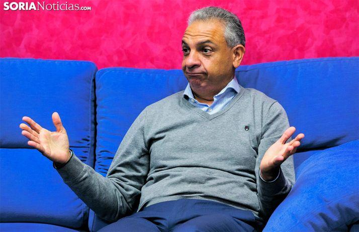 Moisés Israel, actual presidente del CD Numancia. /SN