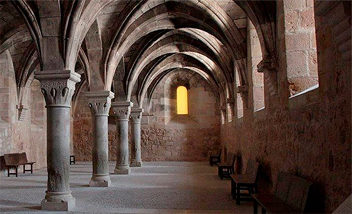 Una de las estancias interiores del convento.