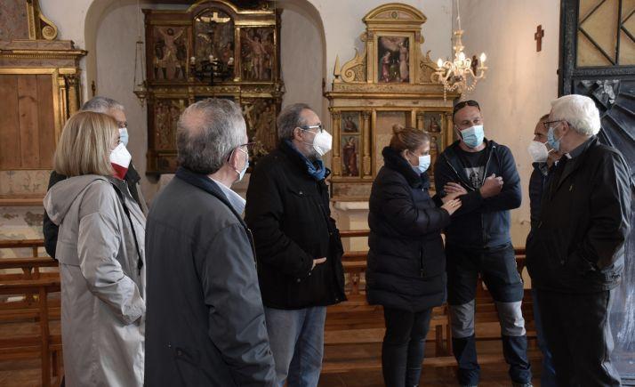 La Junta avanza en la restauración de dos retablos de Ontalvilla de Valcorba