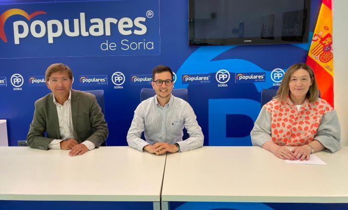 Martínez, Cabezón y Heredia.