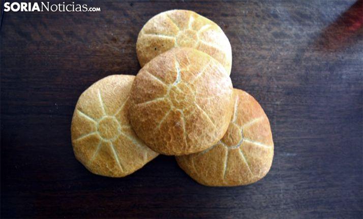 Panecillos dispuestos para el Día de la Tortilla. /SN