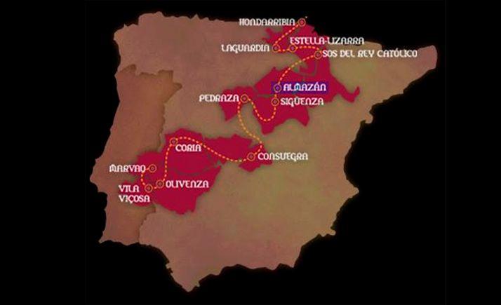 Foto 1 - La Red de Ciudades y Villas Medievales, 15 años de andadura