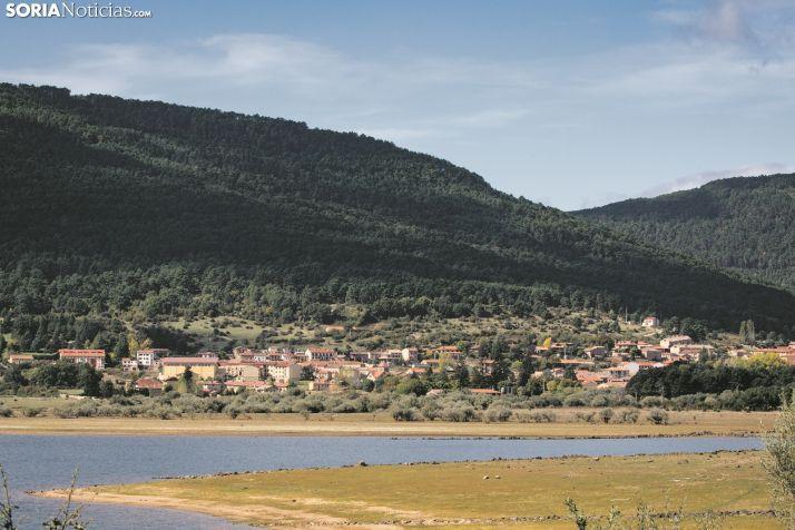 Vista de Vinuesa desde La Cuerda del Pozo. /María Ferrer