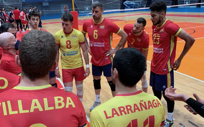 Foto 1 - España, con Osorio y Villalba, mantiene el tono en el bilateral de Túnez