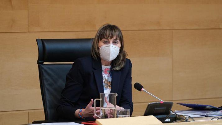 La portavoz socialista de Función Pública, Yolanda Sacristán.