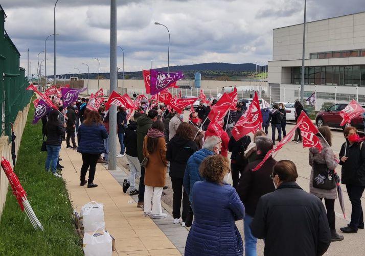 Concentración del 1 de Mayo de UGT Soria.
