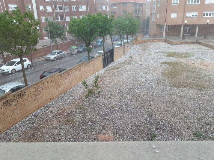 Imágenes de la tormenta de este 30 de mayo en la capital.