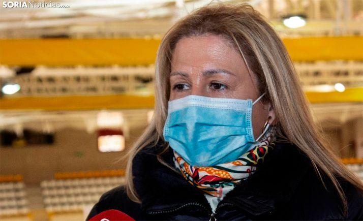 La delegada territorial de la Junta en Soria, Yolanda de Gregorio. /María Ferrer