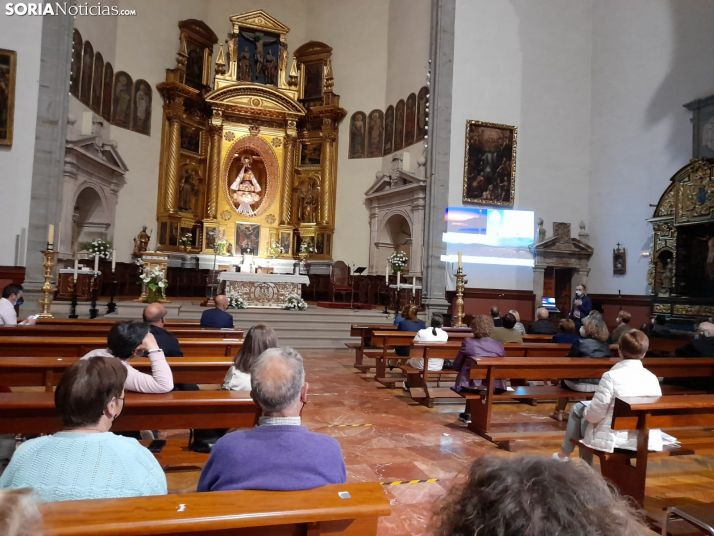 Foto 2 - Ágreda conoce el proyecto que proyectará el fervor a la Virgen de los Milagros en el futuro