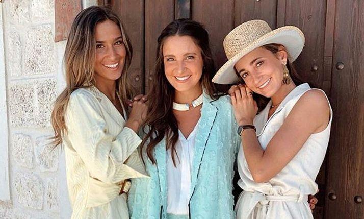 Las hermanas Pombo en una imágen de su instagram.