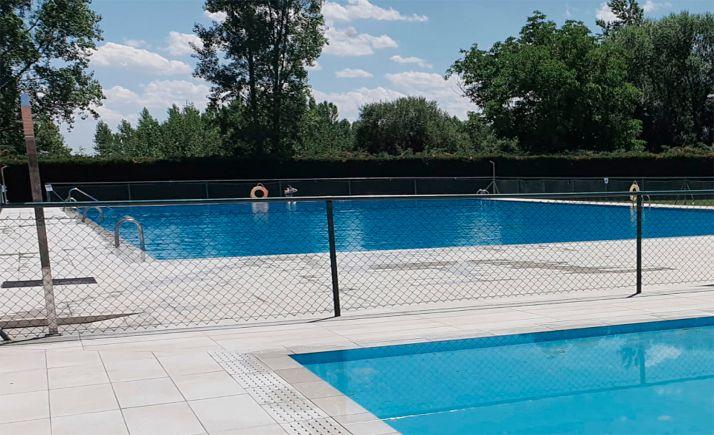 Una imagen de las piscinas municipales sanestebeñas.