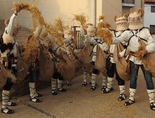 Carnaval de Borobia en una imagen de archivo.