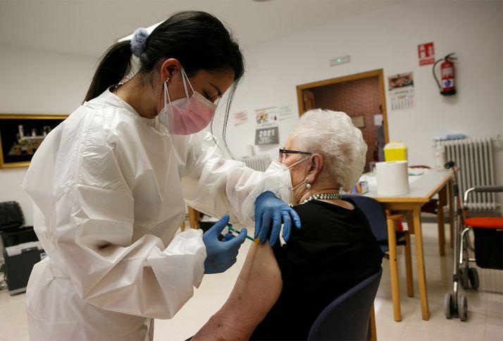El porcentaje de mayores inmunizados supera el 90%.