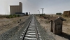 Una imagen de la vía férrea a la altura de Coscurita. /GM
