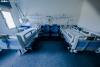 Camas vacías en el Hospital de Soria. SN