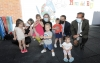Visita al Programa Crecemos en Nava del Rey. /Jta.