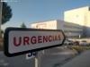Acceso a las Urgencias del Hospital Santa Bárbara.