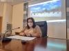 Eva Muñoz, durante la presentación de la campaña.