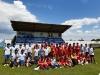 Jornada de convivencia entre las Escuelas de fútbol de Vicálvaro y Almazán.