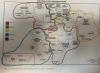 Mapa composición grupos Segunda Federación.