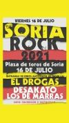 Foto 2 - Desakato, el Drogas y Los Gandules, en el Soria Rock 2021