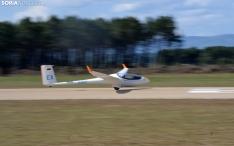 Una de las imágenes que deja la jornada de esta tarde en el aeródromo. /SN