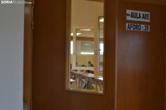 Una imagen de la primera jornada de la EBAU en el Campus de la UVa.