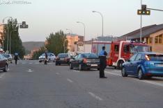 Foto 6 - Una persona herida por un accidente en la avenida de Valladolid