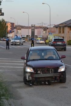 Foto 5 - Una persona herida por un accidente en la avenida de Valladolid