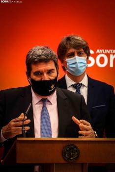 Visita del ministro Escrivá a Soria.