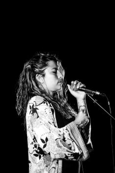 Ana Tijoux en Soria. /Viksar Fotografía