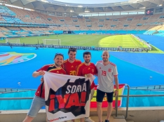 Foto 3 - Soria con la Selección Española en Sevilla