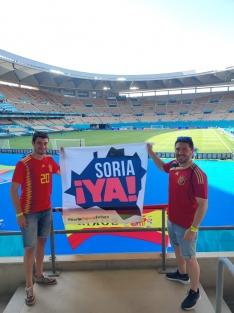 Foto 4 - Soria con la Selección Española en Sevilla